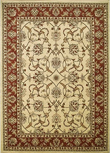 Concord Global Trading Concord Global Chester Empress Area Rug – 7 10 x 10 6 Light Blue Brown