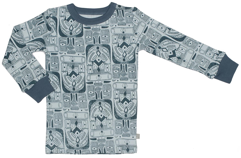 100/% Organic Cotton T-Shirt Size 2T Stonewash Green Burts Bees Kids Printed Back