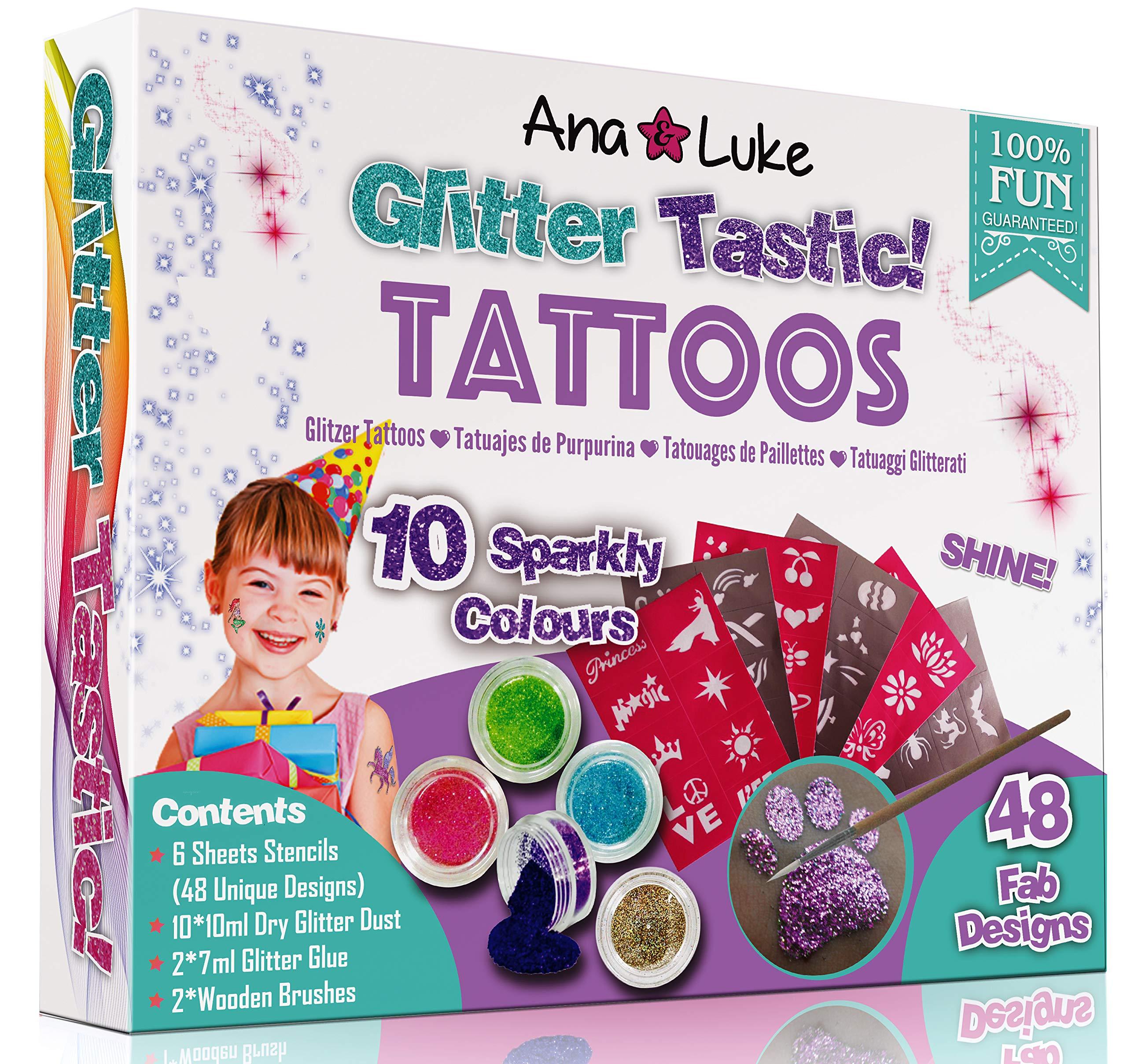 2 x Glitter Tattoos Mega Pack
