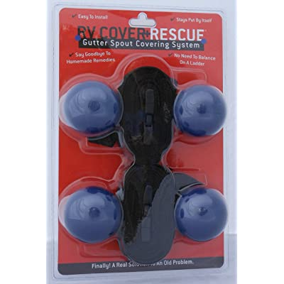 RV Cover Rescue | RV Gutter Spout Cover System | Protects Your RV Cover From Gutter Spout Damage: Automotive