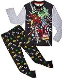 Marvel Avengers Pijama Niño, Pijamas Niños de Los Vengadores Superheroes Capitan America, Hulk, Iron Man y Thor…