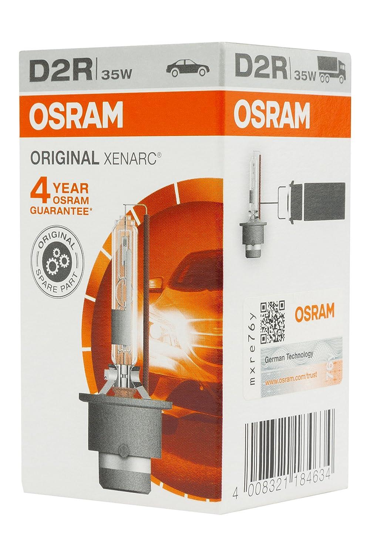 equipamiento original OSRAM 66250 XENARC ORIGINAL D2R HID estuche 1 unidad L/ámpara de xen/ón OEM
