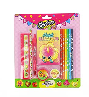 Shopkins Super - Set di cancelleria Blueprint Collections SKTR1897