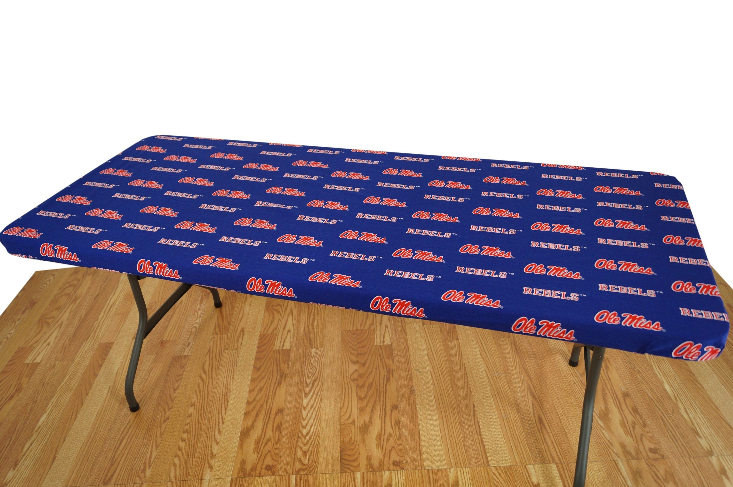 College Covers Mississippi Rebels Table Cover, 8'/95 by 30''