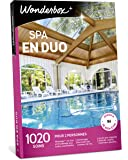 Wonderbox – Coffret cadeau couple - SPA EN DUO – 1020 soins bien-être, massages aux huiles essentielles, accès au spa, gommages aux cristaux de sel