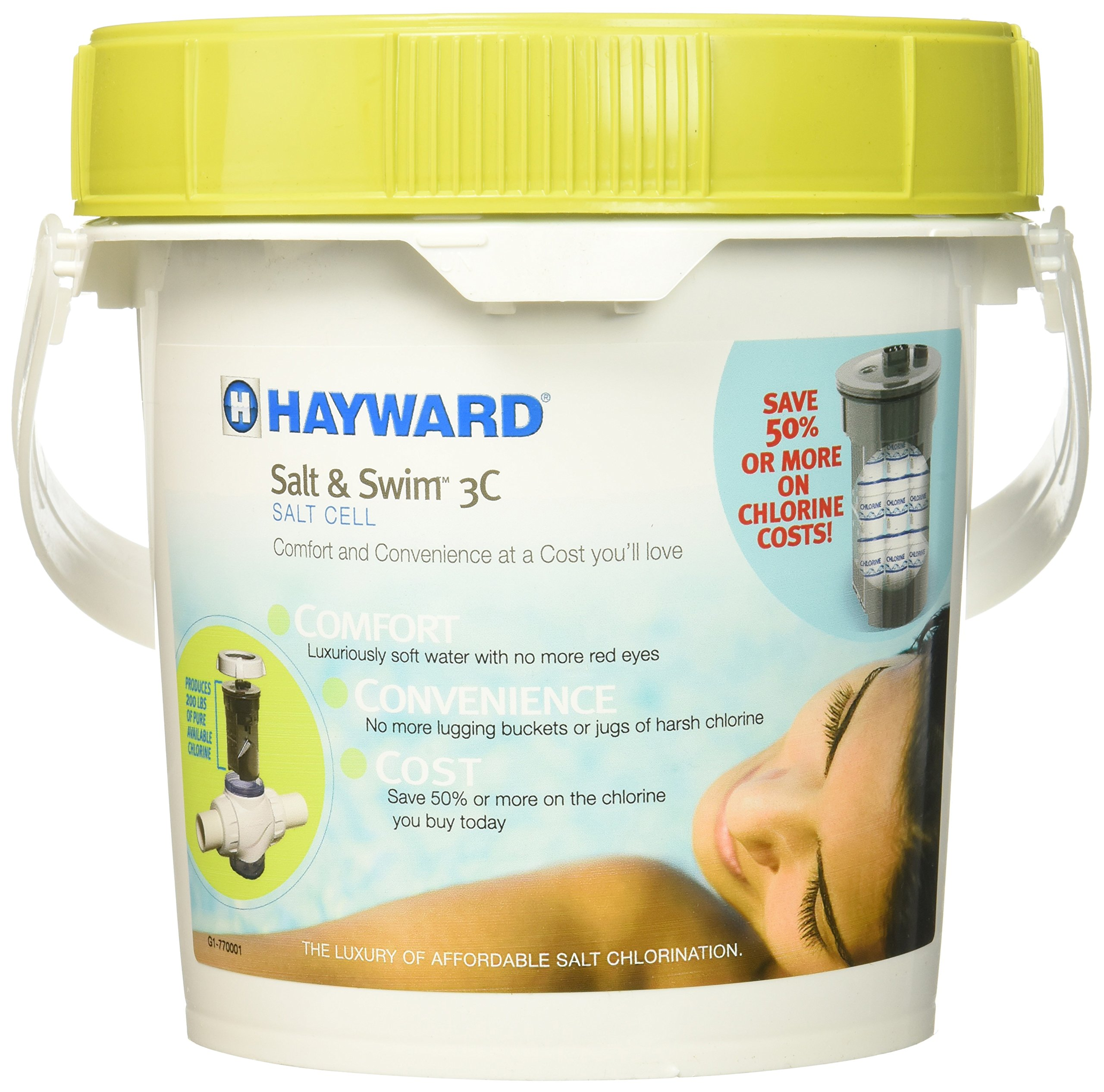Hayward SAS-CELL Salt & Swim Salt Chlorination Cell for In-Ground Swimming Pools by Hayward