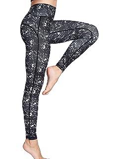 Women s Long Sports Leggings Running Tights High Waist Stretch Fitness Yoga  Pants d05d358824f49