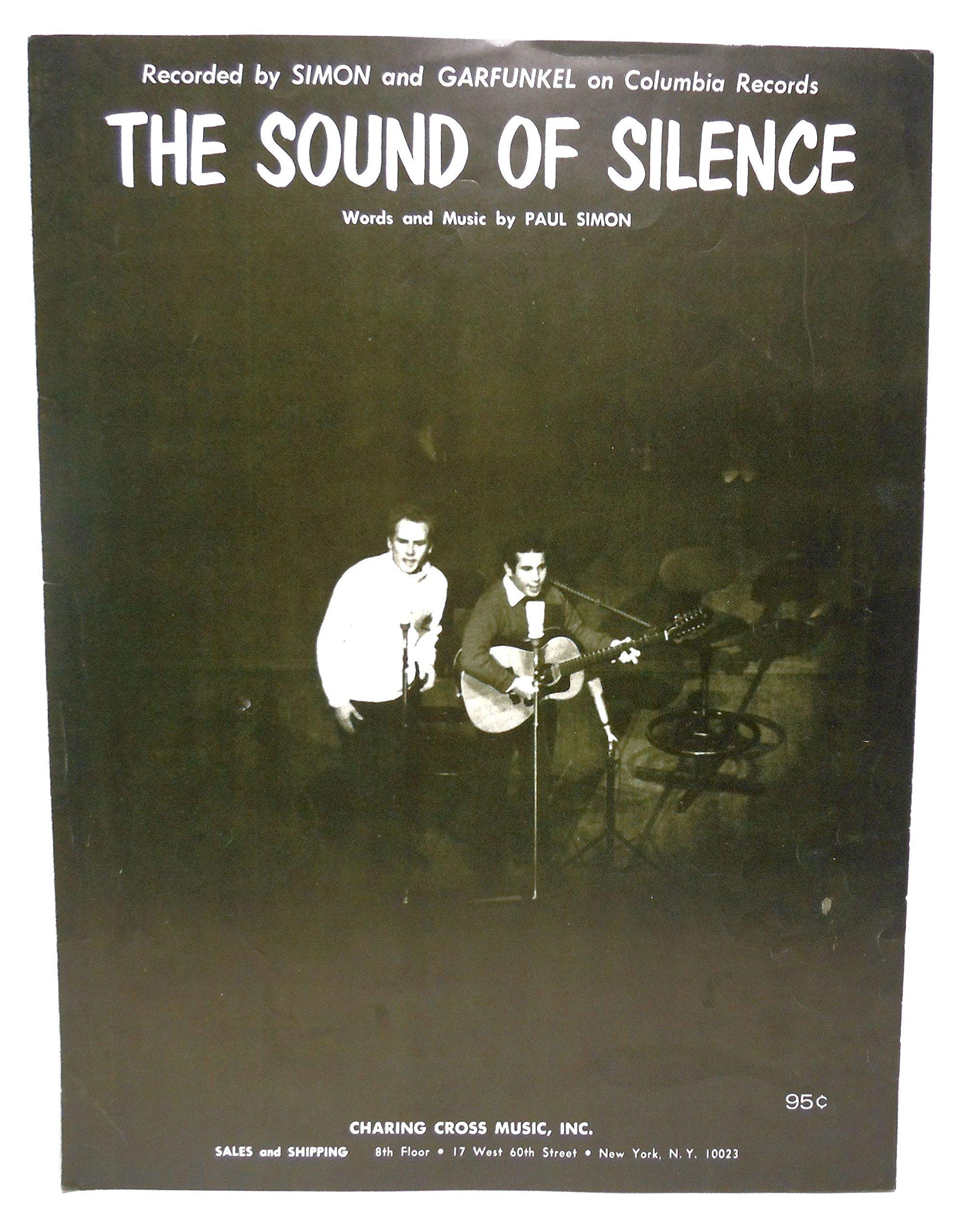 The Sound Of Silence Sheet Music By Simon And Garfunkel Paul Simon