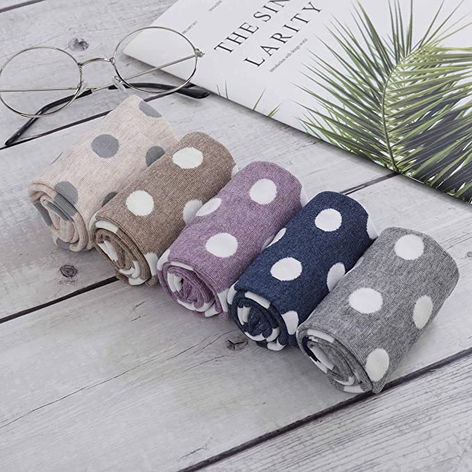 HONGXIN-SHOP Calze da Donna Colorati Cotone Calze Morbido Sudare-assorbenti Gatto Modello Unisex Calzini