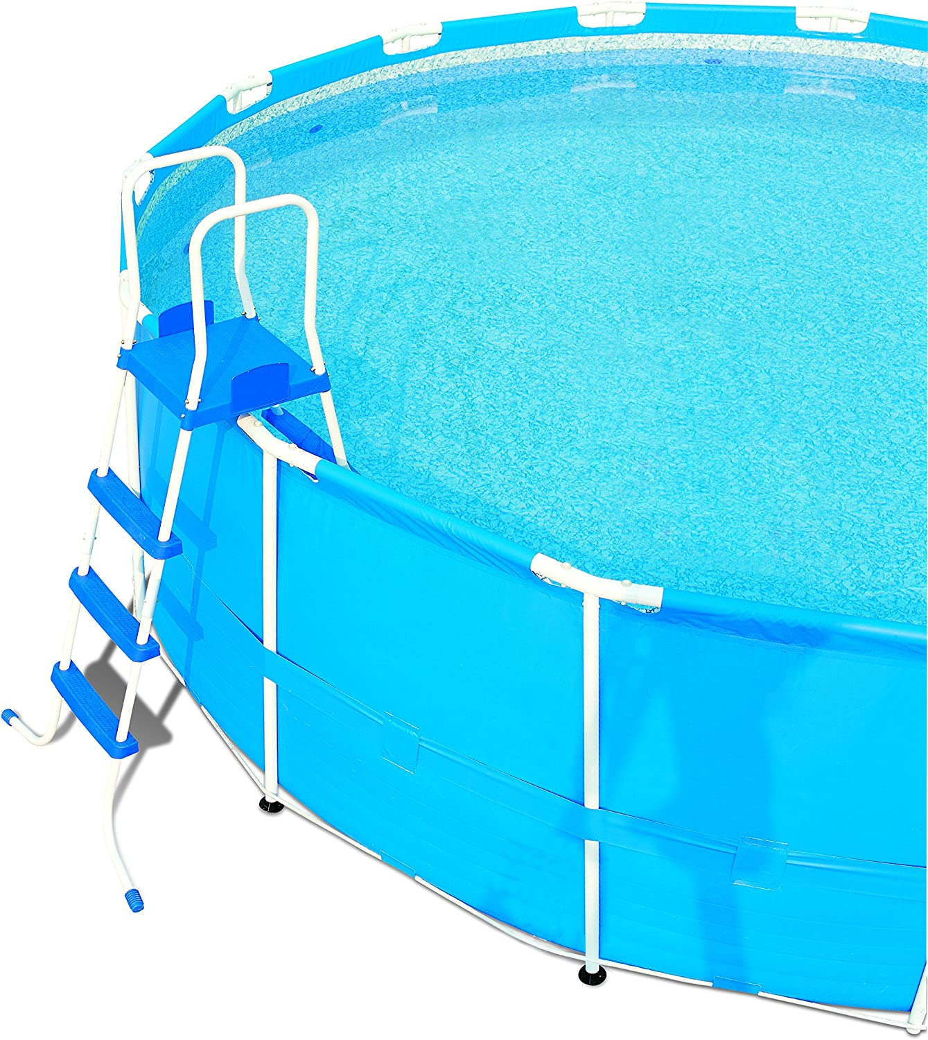 Escalera para Piscina Desmontable Bestway 122 cm: Amazon.es: Jardín