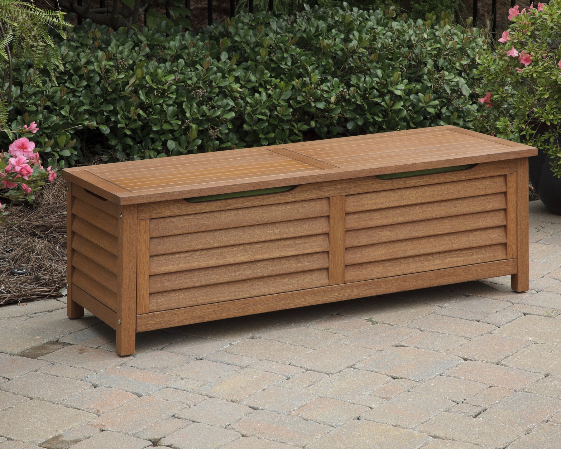 Home Styles 5661-25 Montego Bay Deck Box, Eucalyptus Finish by Home Styles