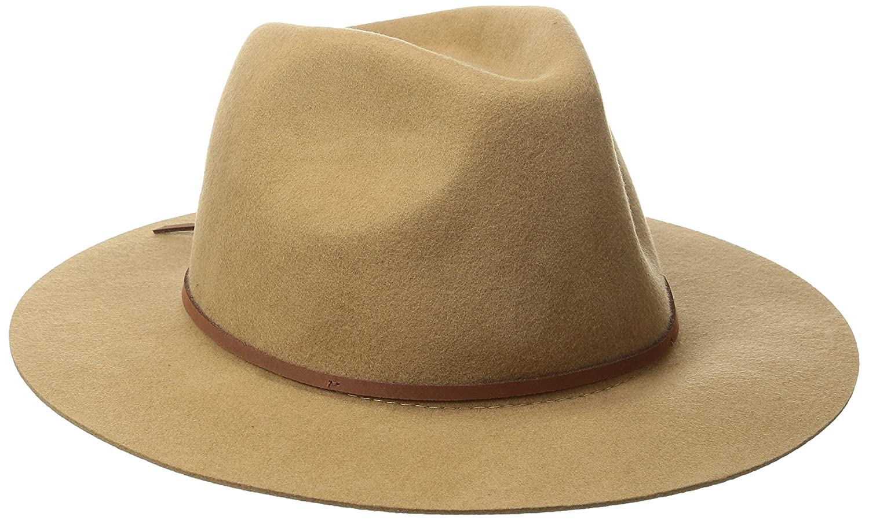 575cc5ba568f74 Amazon.com: Brixton Men's Wesley Fedora Hat: Clothing