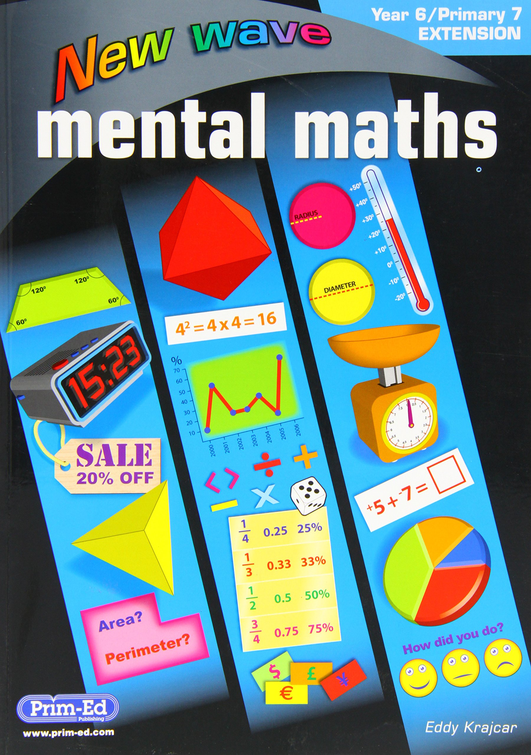 New Wave Mental Maths Year 6/Primary 7: 9781846544996: Amazon.com: Books
