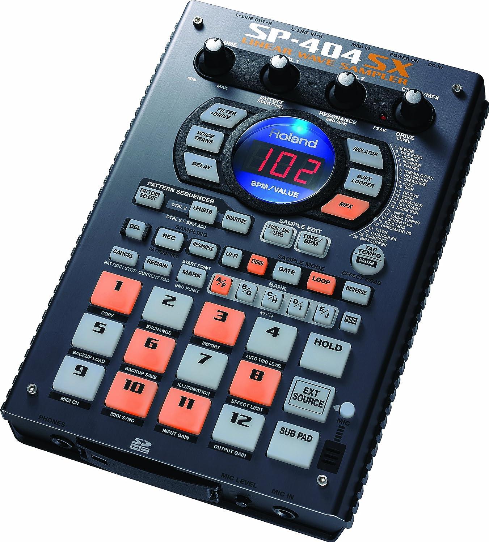 roland sp 404sx linear wave sampler musical instruments