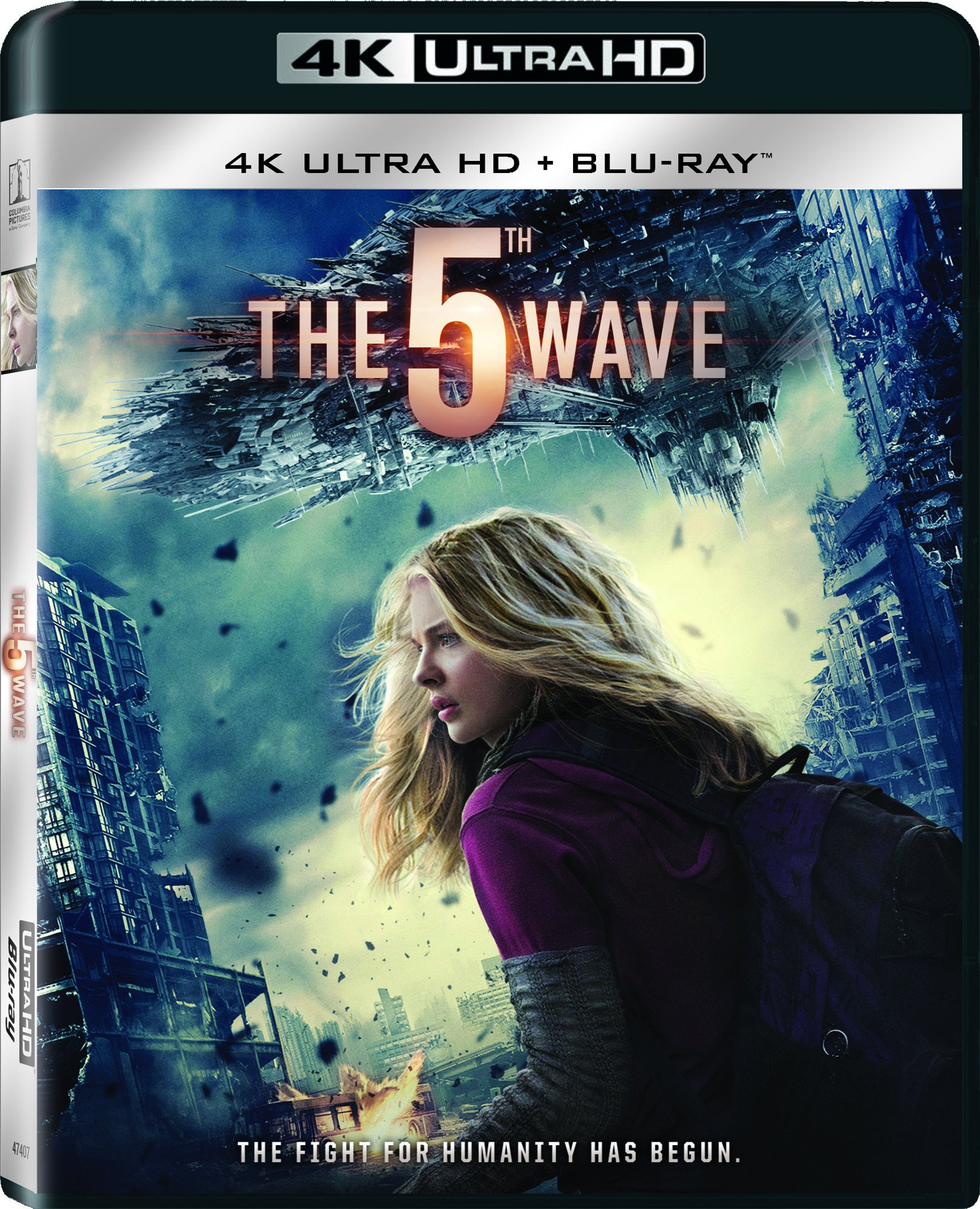 4K Blu-ray : The 5th Wave (With Blu-Ray, Ultraviolet Digital Copy, 2 Pack, Dolby, AC-3)