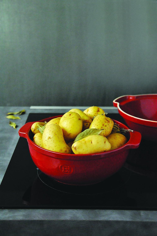 Colore: Bordeaux Emile Henry casseruola in Ceramica per Le Patate