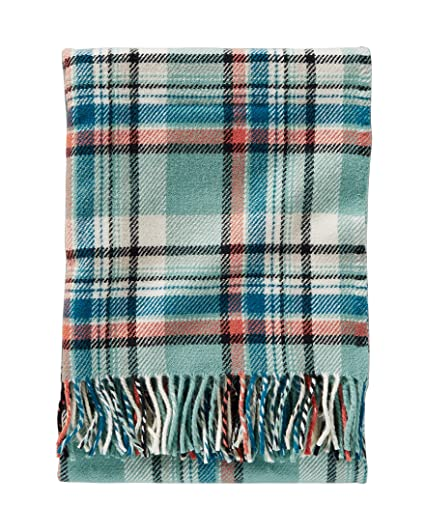 Image Unavailable. Image not available for. Color  Pendleton Eco-Wise Wool  Fringed Throw ... 5f69078d4