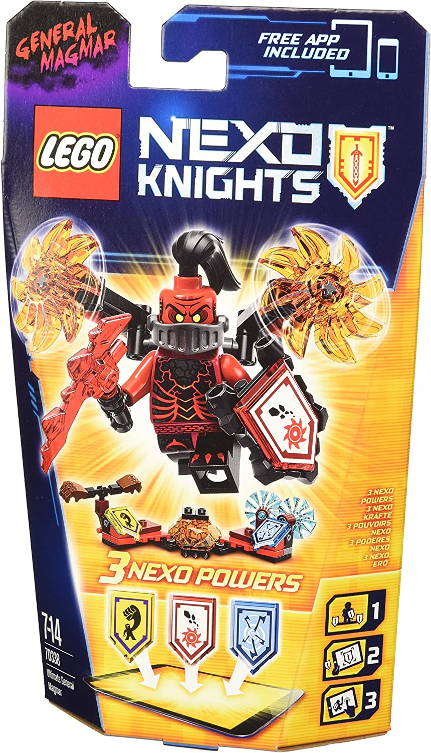 LEGO Nexo Knights - Ultimate General Magmar