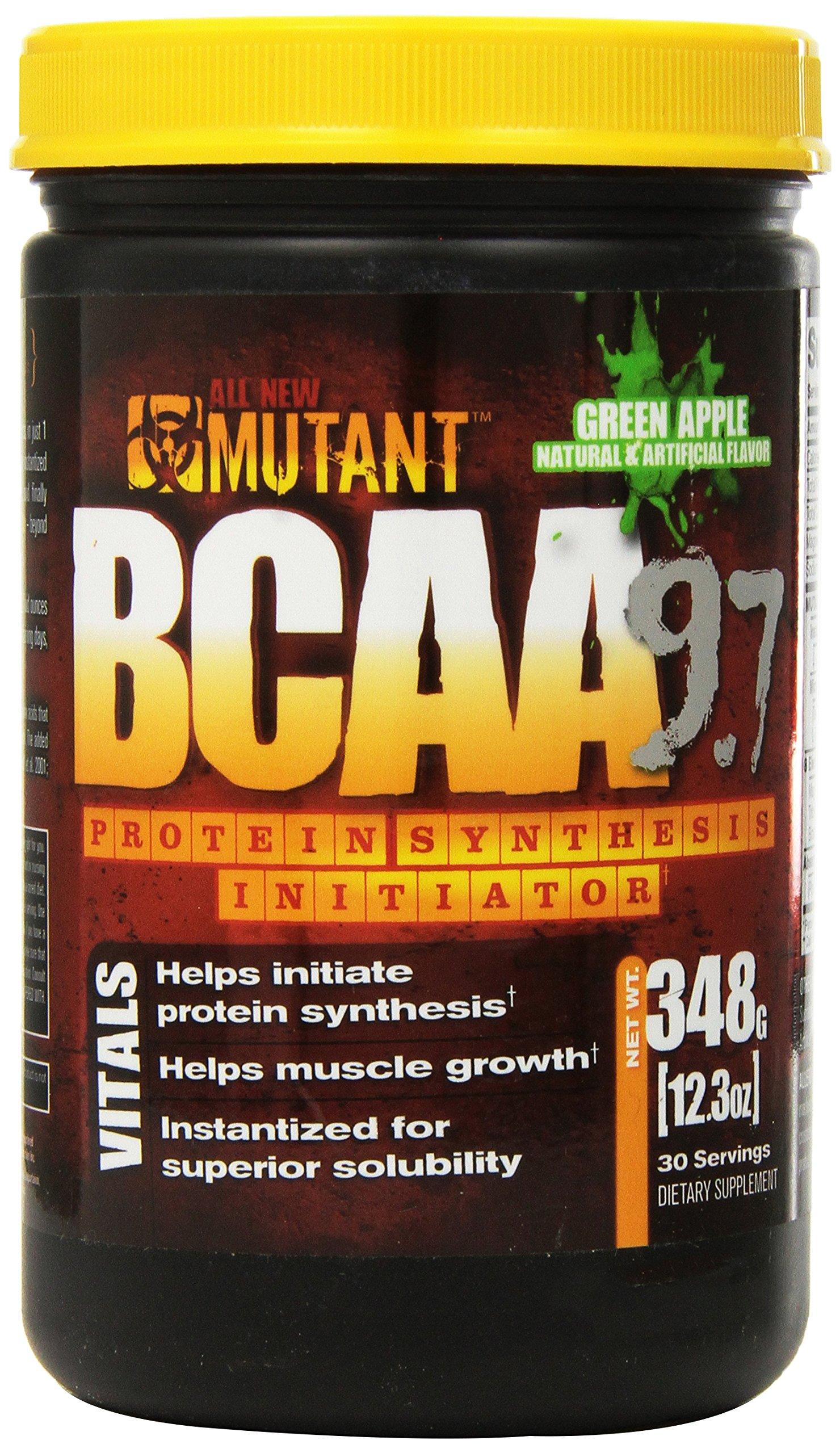 Mutant BCAA 9.7 Delicious Aminos, Green Apple, 348 Gram