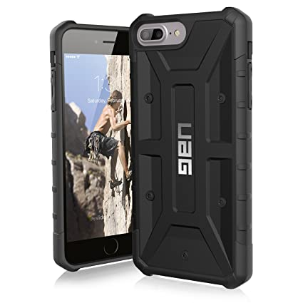 huge discount 23bf6 39ad3 Urban Armor Gear UAG Pathfinder Rugged Protection Case / Cover Designed for  iPhone 8 Plus / 7 Plus /6S Plus (Military Drop Tested) - Black