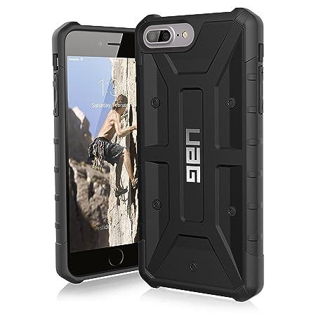 Urban Armor Gear Plastic Back Cover for Apple iPhone 8 Plus / 7 Plus /6S Plus   Black