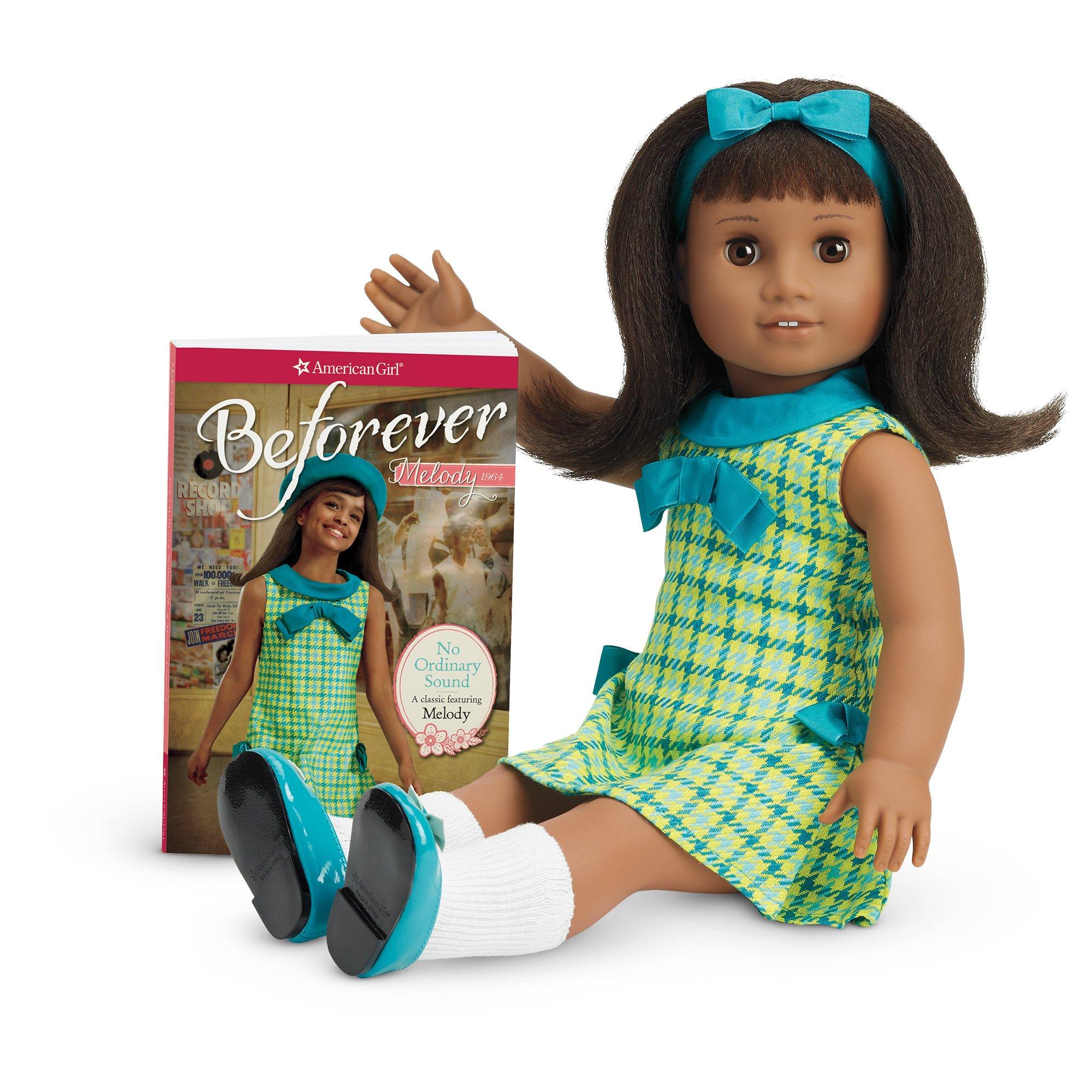 American Girl Melody Doll and Book