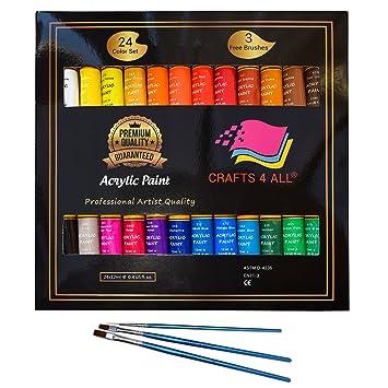 Peinture Acrylique  Set By Crafts  All Pour Le Papier La Toile