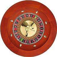 """16"""" Deluxe de madera ruleta con rastrillo"""
