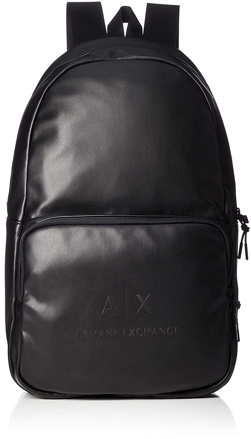 2b08c722570 Amazon.com  Armani Exchange Men s Backpack with Front Zipper and Logo