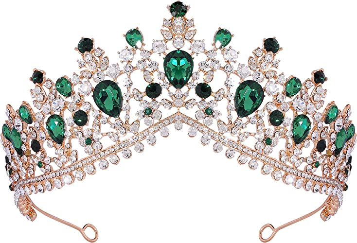Beauty Festzug Kristall Strass Kronen Queen Diademe Haar Accessoires Jewelries
