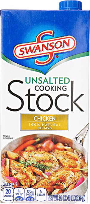 Amazon swanson unsalted chicken cooking stock 32 oz swanson unsalted chicken cooking stock 32 oz forumfinder Images