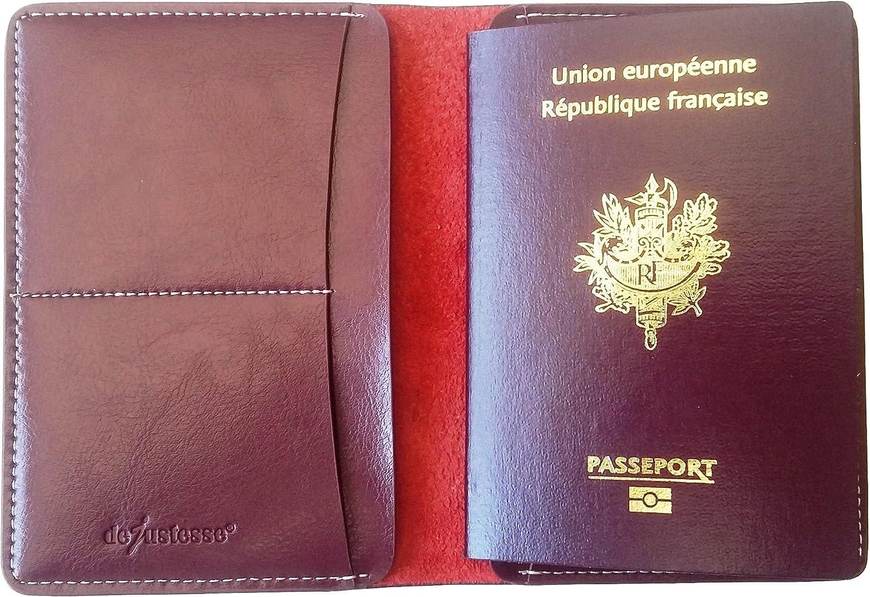 PASDD Prot/ège-Passeport Porte Etui Housse Passeport Couverture Protection Holder Carte de Visite Organisateur de Cartes Accessoires de Voyage