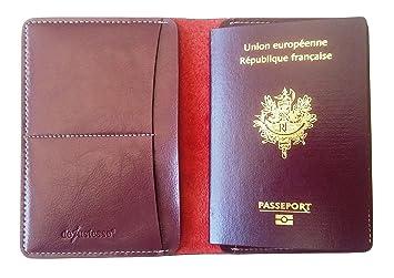 Protège Passeport En Cuir Étui De Protection Pour Passeport - Porte passeport cuir