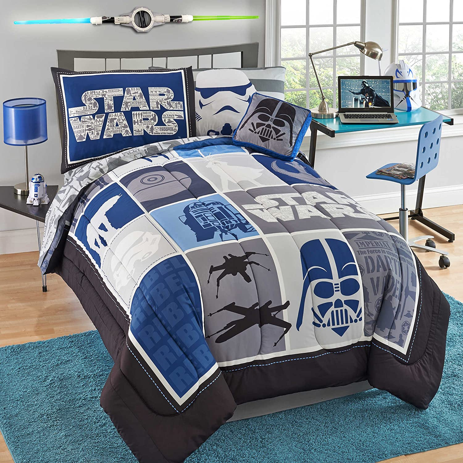Star Wars Saga Comfy & Classic 7-pc Comforter Set