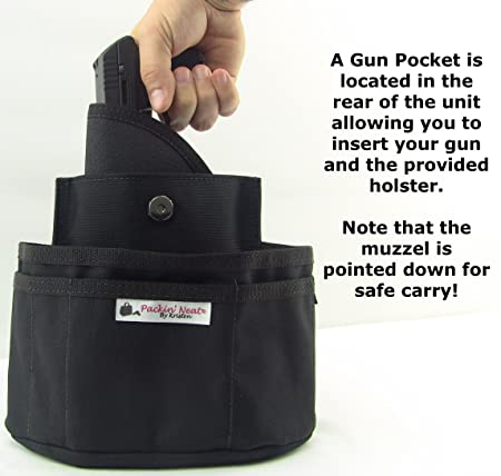 Amazon.com: packin Neat Tactical Purse cartuchera para ...