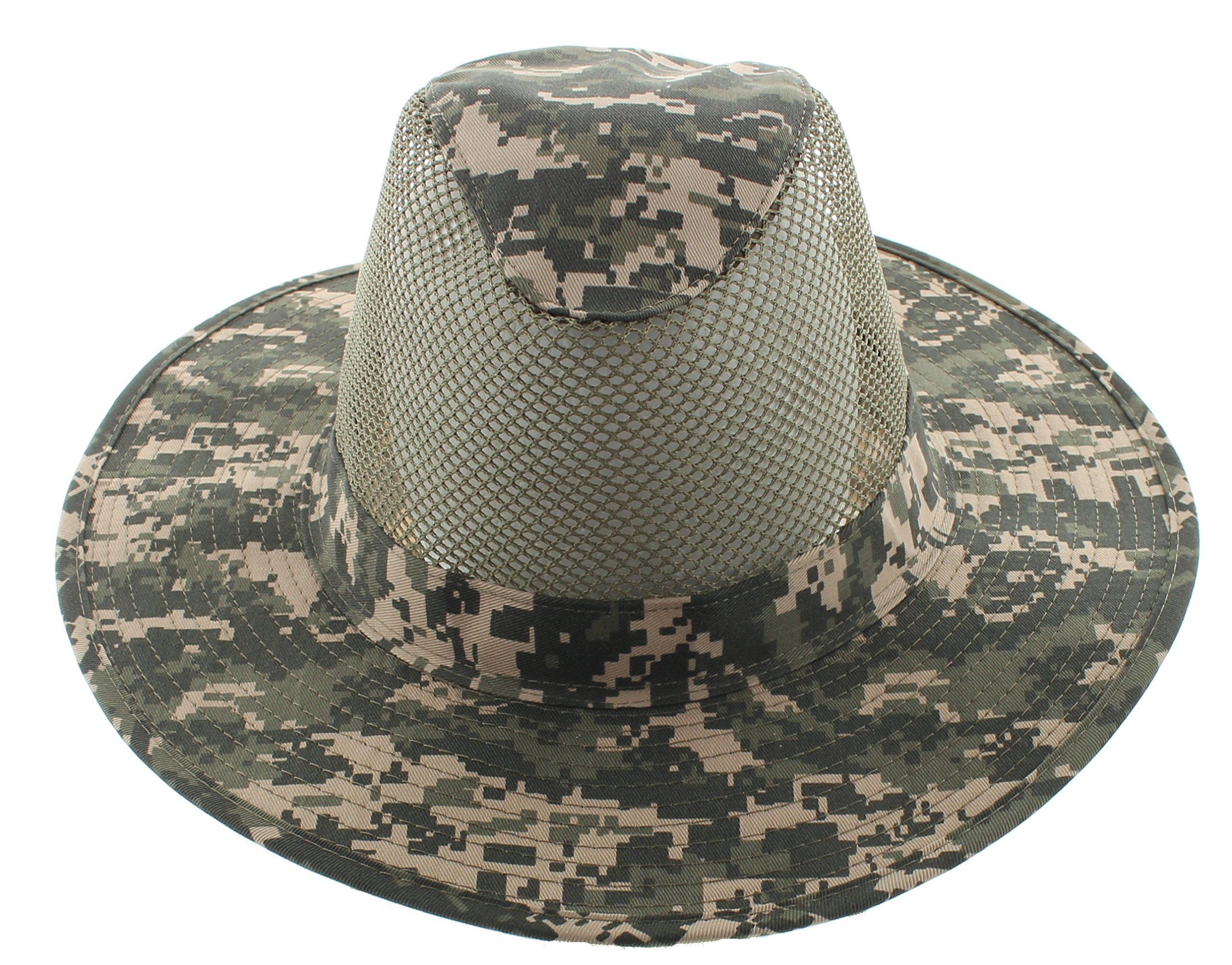 74a87c3011e3f JFH Group Wide Brim Men Safari Outback Summer Hat With Neck Flap (Extra  Large