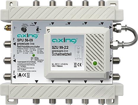 Axing Spu 56 09 Sat Multischalter 6 Teilnehmer Elektronik