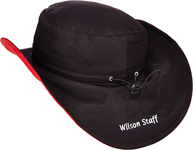Wilson Staff Wilson Staff Rain Floppy - Black Mens -: Amazon.co.uk: Clothing