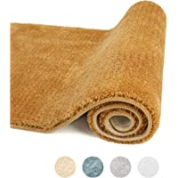 Feishibang Bathroom Rug Mat Super Soft and Comfortable Indoor Mat, Non-Slip Machine Washable Plush Fluffy Carpet Super…