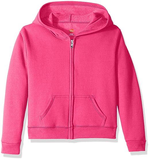 Girls Full Zip Fleece Hoodie