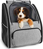 Ytonet Pet Carrier Backpack, Dog Backpack Carrier for Small Dogs Cats, Two-Sided Entry, Ventilated Design Dog Carrier…