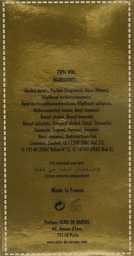 Urlic De Varens, Agua de perfume para mujeres - 1 unidad: Amazon.es: Belleza
