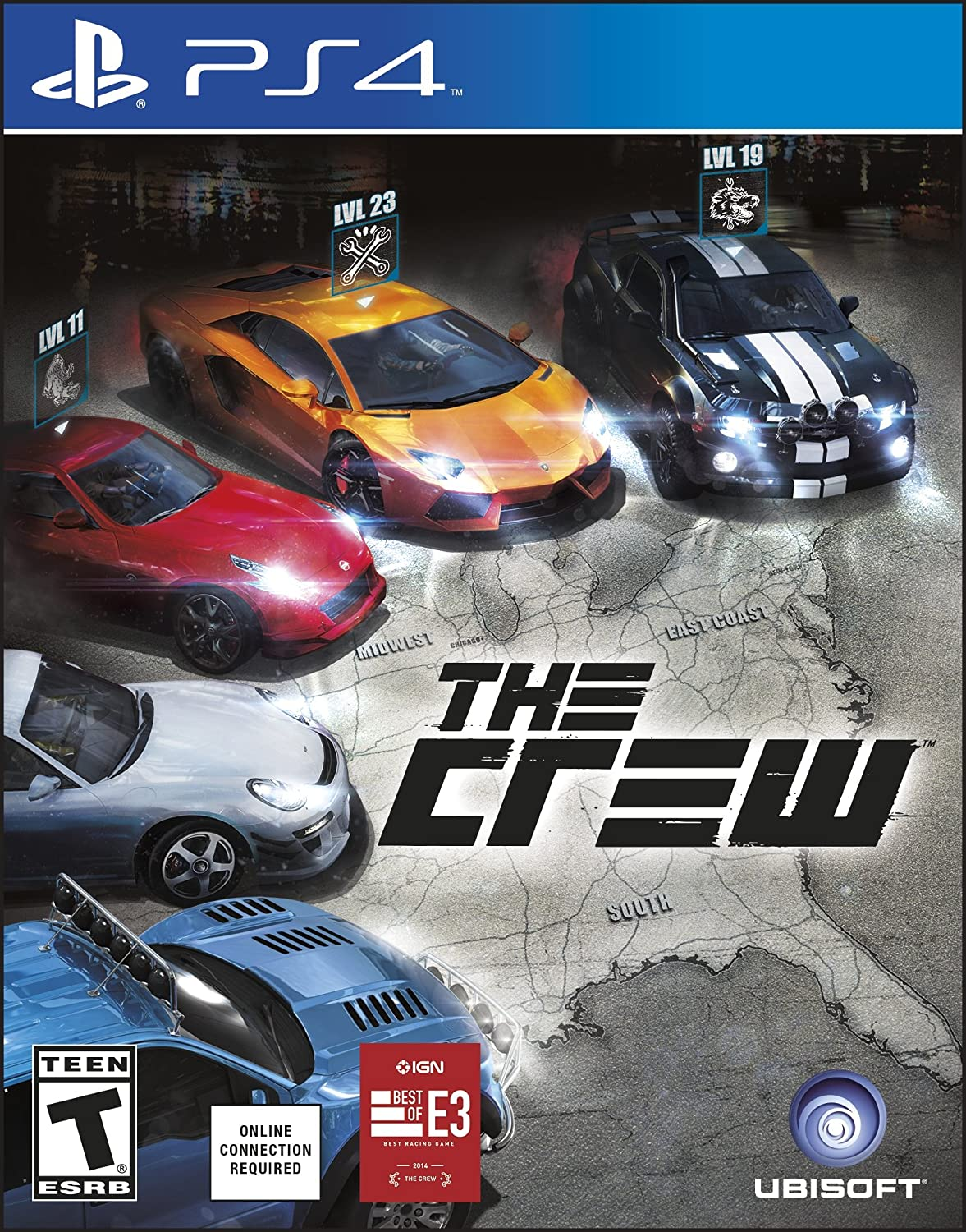 Amazon Com The Crew Playstation 4 Ubisoft Video Games