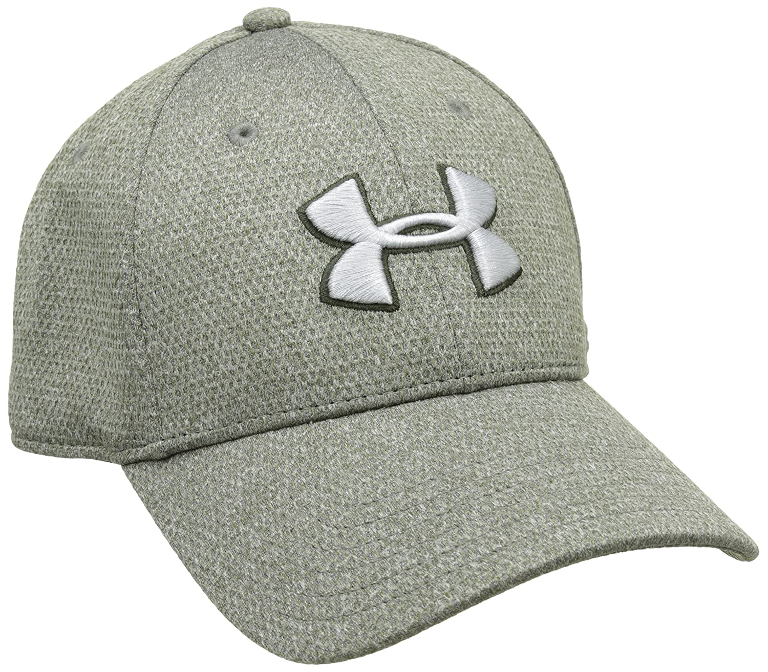 f59eced1299 Amazon.com  Under Armour Men s Heathered Blitzing Cap  UNDER ARMOUR  Sports    Outdoors