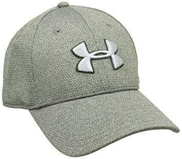 Under Armour Mens Heather Blitzing Cap Gorra de béisbol, Hombre, Verde (Artillery Green