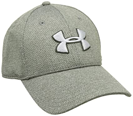80598b1c1f0 Under Armour Men s Heather Blitzing Cap Artillery Green Artillery  Green Overcast Gray Hat