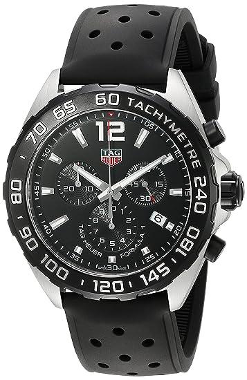 dca51cd2799d TAG HEUER RELOJ DE HOMBRE CUARZO SUIZO 43MM CORREA DE GOMA CAZ1010.FT8024  TAG  Heuer  Amazon.es  Relojes