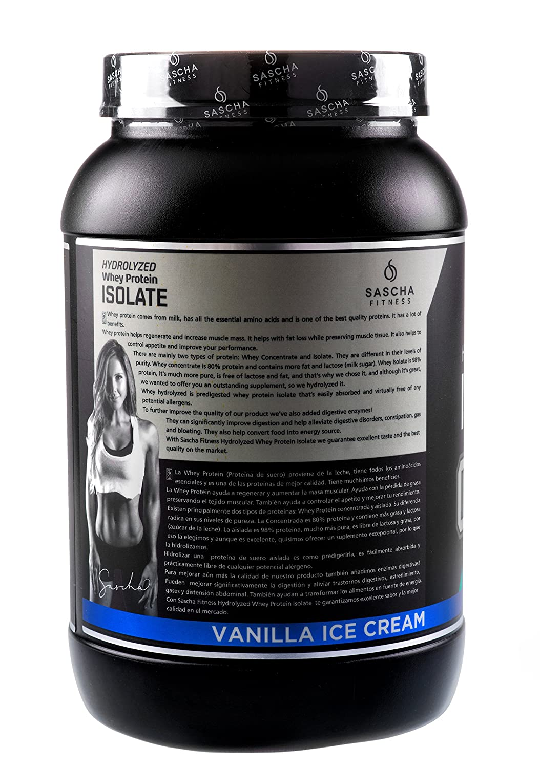 Amazon.com  Sascha Fitness Hydrolyzed Whey Protein Isolate 4889fc8d005