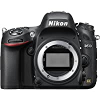 Nikon D610 Digital Slr Camera (24.3Mp) 3.2 Inch Lcd Dslr Kamera