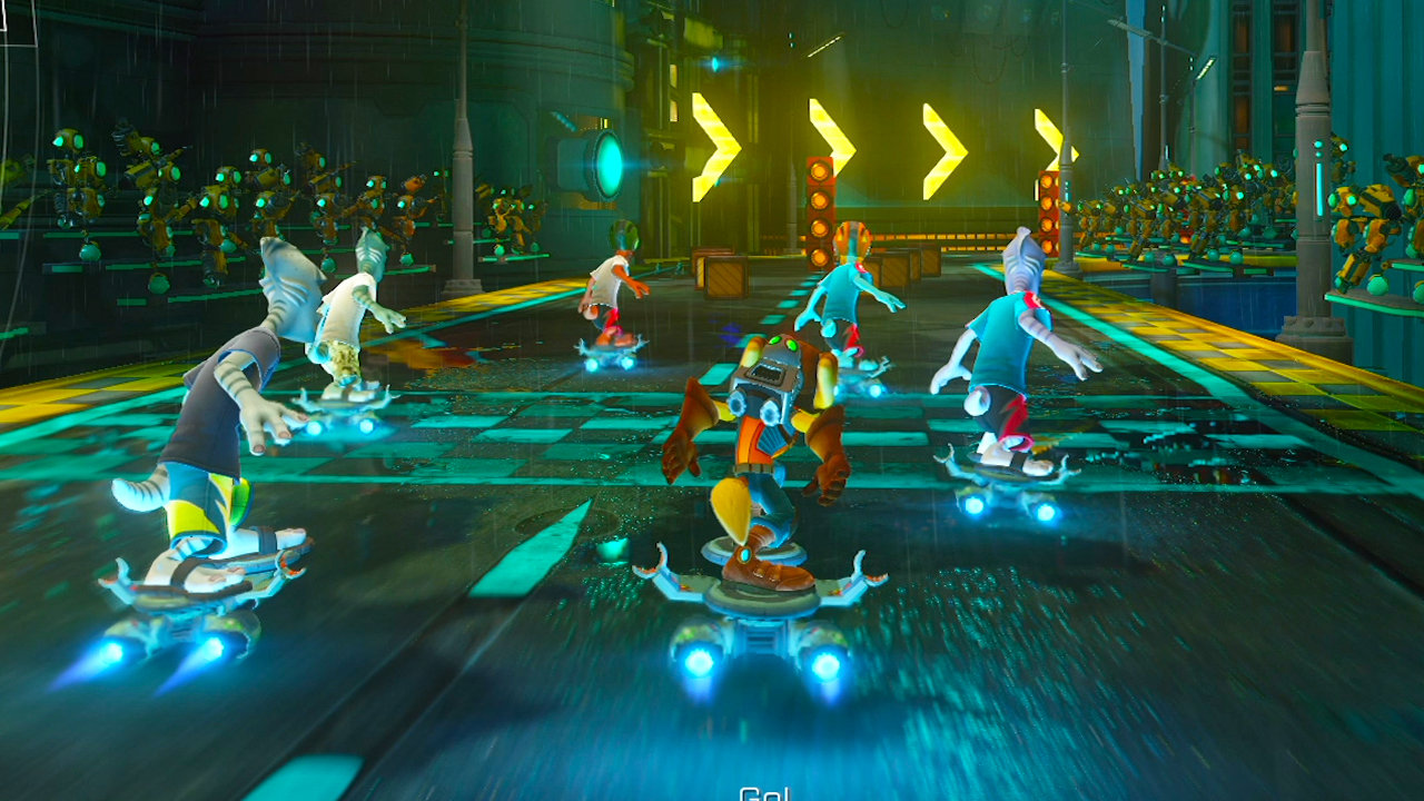 Ratchet And Clank Gold Cup Hoverboard Racing